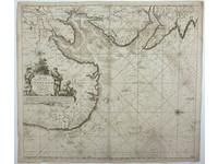 Gouldmaps Noordzee, Engeland; J. van Keulen - Pas-caert Vande Zee cussen van Engeland van Orfordness tot aen Flamborger Hoost. - 1685 ca.