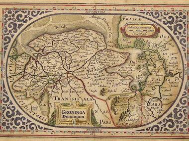 Gouldmaps Janssonius J. / A. Goos - Groninga Dominium - 1630 ca.