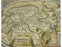 Gouldmaps J. Janssonius / A. Goos - Groninga Dominium - 1630 ca.