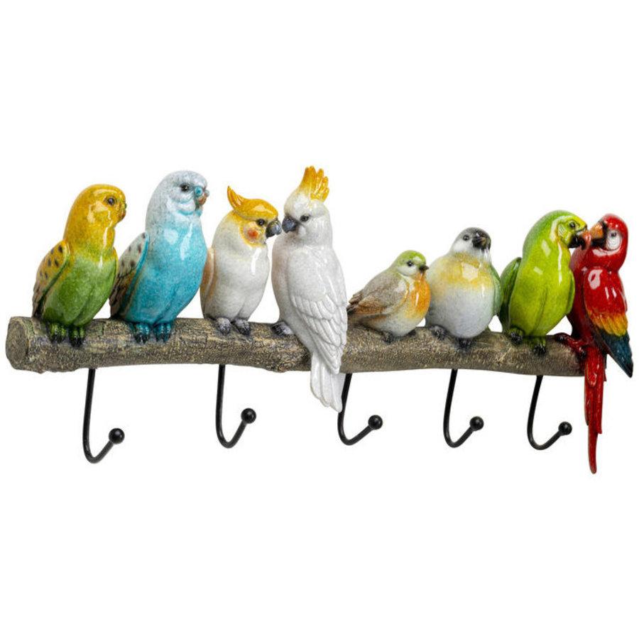 Kare Coat Rack Exotic Birds