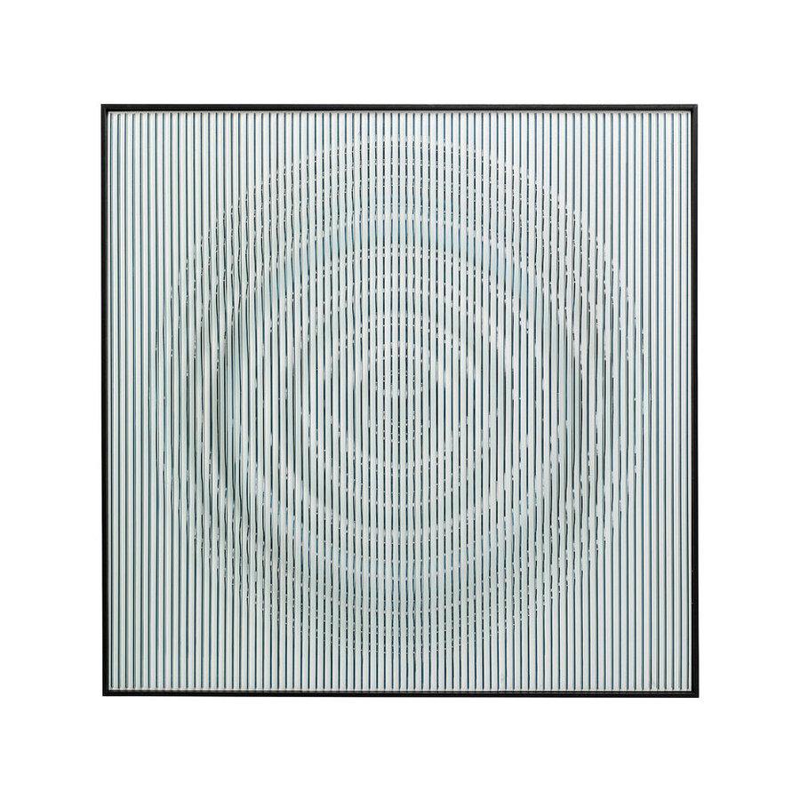 Kare Wanddeco Art Circle