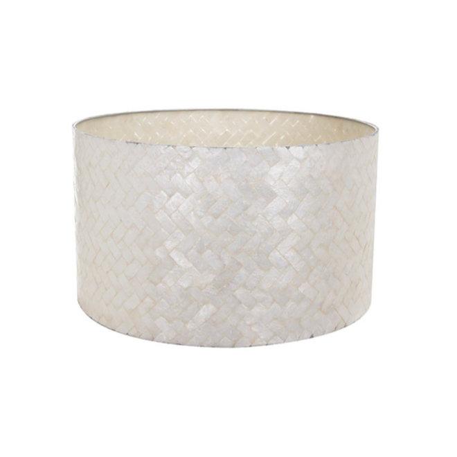 Schelpenlamp - Zigzag - Losse kap - cilinder Ø 55 cm