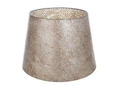 Villaflor Schelpenlamp - Wangi Gold - Losse kap - conisch Ø 40-55 cm