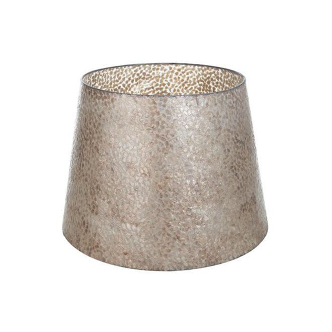 Schelpenlamp - Wangi Gold - Losse kap - conisch Ø 40-55 cm