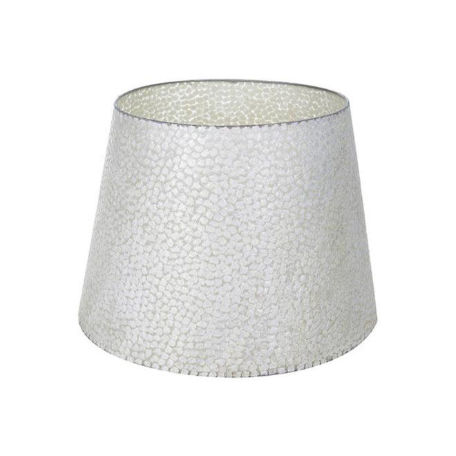 Schelpenlamp - Wangi White - Losse kap - conisch Ø 40-55 cm