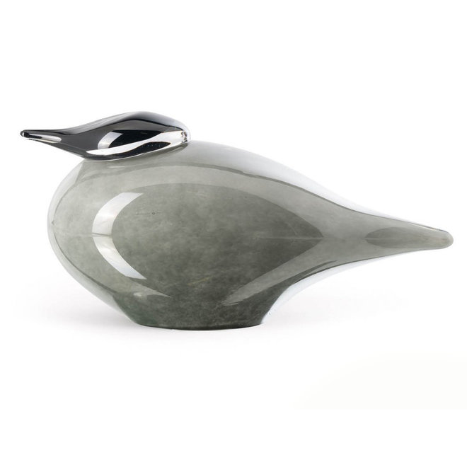 Glass Art Noordse Stern, Grey/Opal