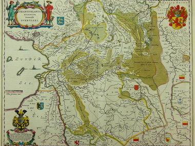 Gouldmaps Blaeu W. & J.  - Transiselania dominium (..) - 1635-1660