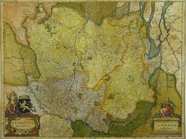 Gouldmaps Blaeu W. & J.  - Brabantia Ducatus. - 1635-1672