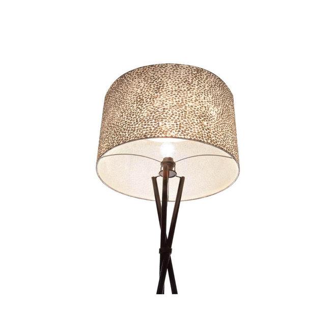Villaflor schelpenlamp - Wangi White - Losse kap - conisch Ø 40-55 cm