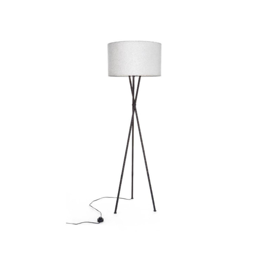 Villaflor Villaflor schelpenlamp - Zigzag - Losse kap - cilinder Ø 55 cm