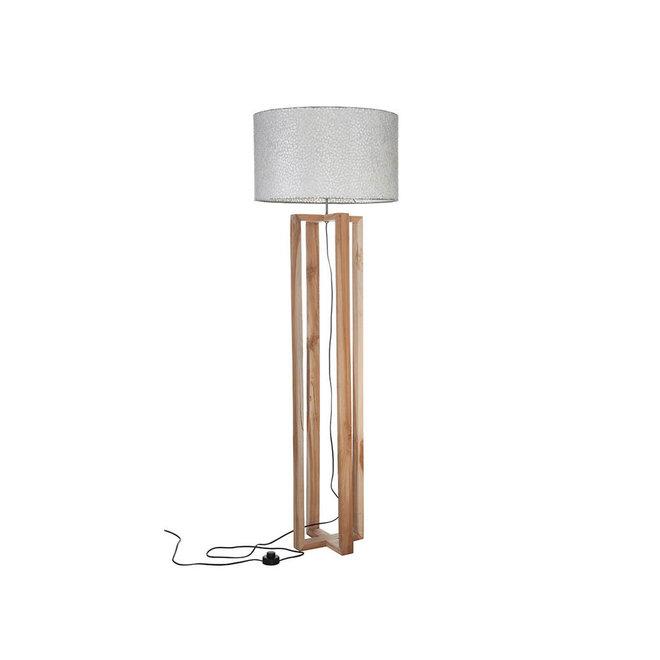 Villaflor schelpenlamp - Zigzag - Losse kap - cilinder Ø 55 cm