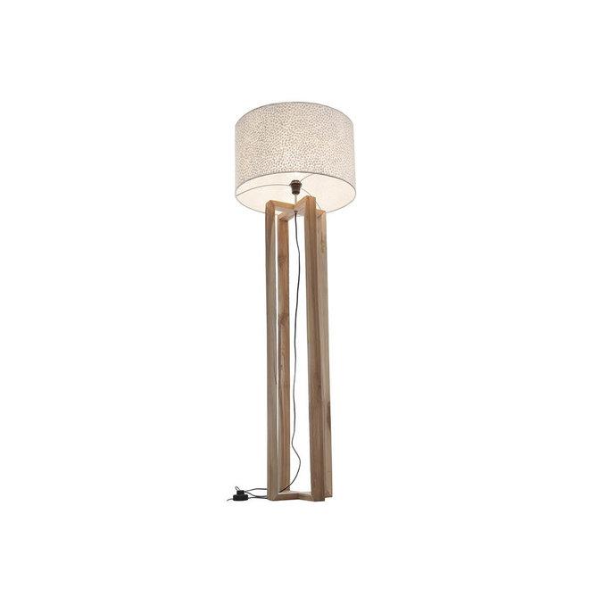 Villaflor schelpenlamp - Wangi White - Losse kap - cilinder Ø 55 cm