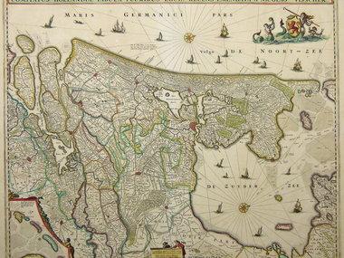 Gouldmaps Visscher N. II - Comitatus Hollandiae (..) - 1684 ca.