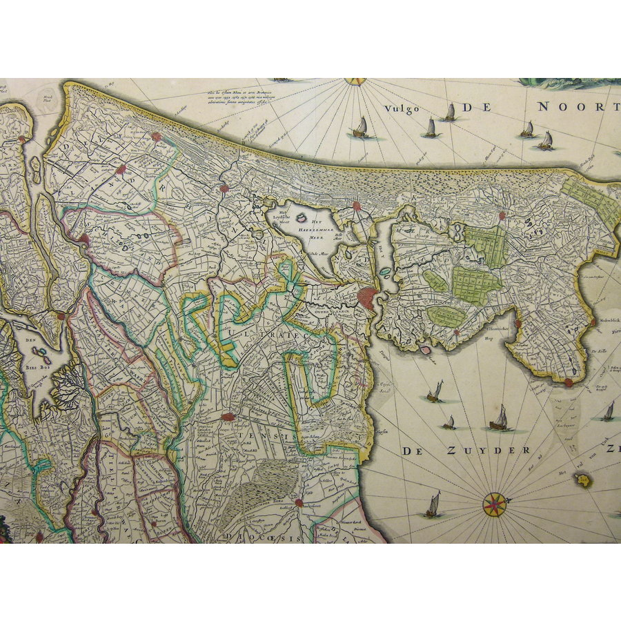 Gouldmaps N. Visscher II - Comitatus Hollandiae (..) - 1684 ca.