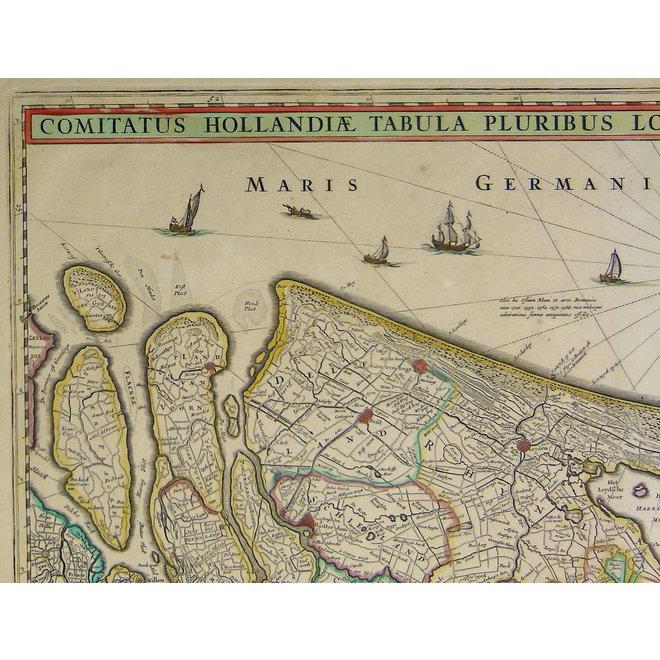 Collectie Gouldmaps - Holland; N. Visscher II - Comitatus Hollandiae (..) - 1684 ca.