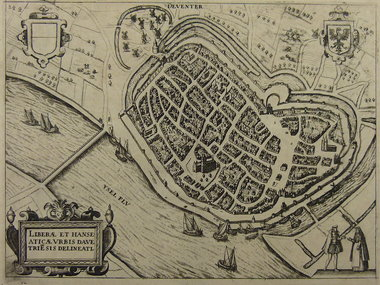 Gouldmaps Deventer - L. Guicciardini - Deventer - 1612
