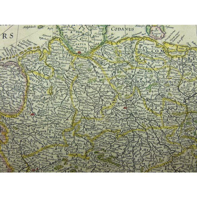 Collectie Gouldmaps - Heilige Roomse Rijk; Blaeu W. & J.  - Nova Totius Germaniae Descriptio. - 1635-1660