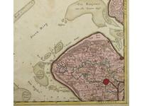 Gouldmaps Walcheren; J. Condet / J. Covens & C. Mortier - Carte.. de l'Isle de Walcheren. - 1750 ca.