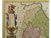 Gouldmaps XVII Provinciën; N. Visscher II - (..) XVII Provinciarum Germaniae Inferioris (..). - 1682-1685