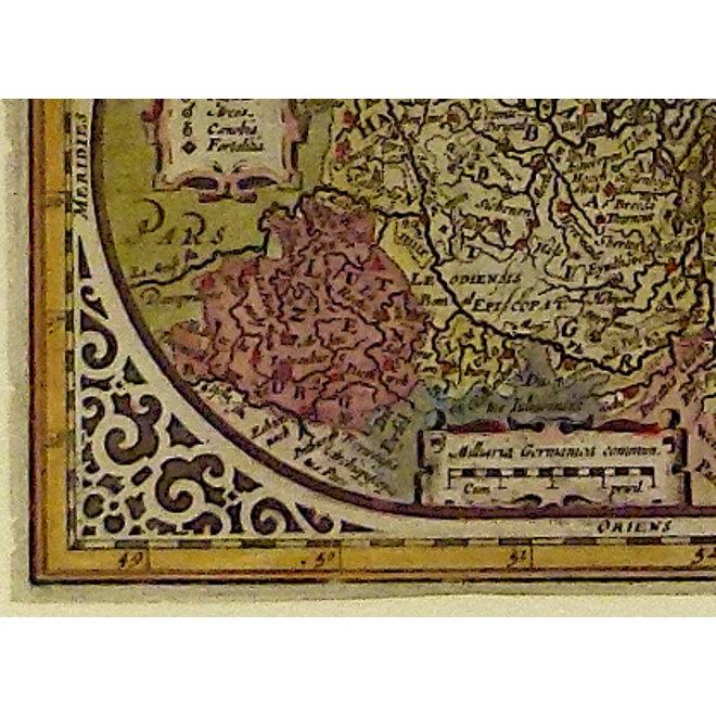 Collectie Gouldmaps - XVII Provinciën; A. Goos / J. Janssonius - Belgium Sive inferior germania - 1628  ca.