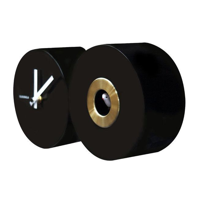 Cloudnola Cuckoo EPL Nightingale Clock Black