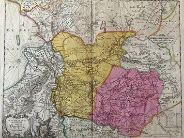 Gouldmaps Schenk P. - Transisalania Provincia (..). - 1720 ca.