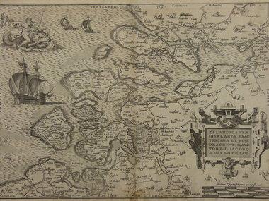 Gouldmaps Ortelius A. - Zelandicarum Insularum (..). 1570
