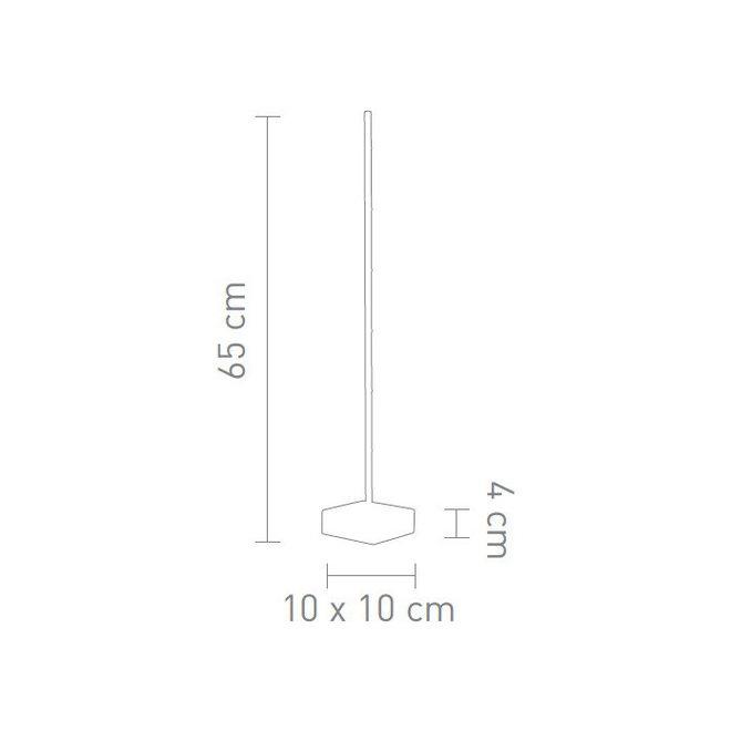 Sompex Tafellamp Pin, zwart