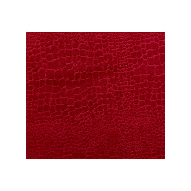Magazine Basket 'Snake', velvet red