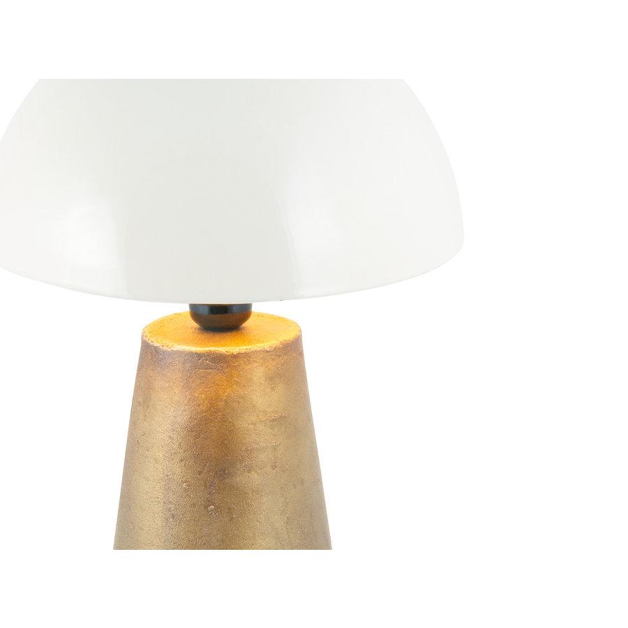 Mossapour Tafellamp Conical White Medium