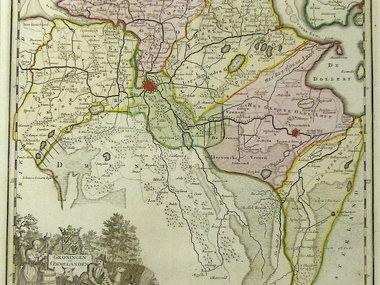 Gouldmaps Tirion I. - Groningen en Ommelanden - 1740 ca.