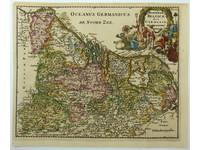 Gouldmaps XVII Provinciën;  P. Cluverius / J. Wolters - Hodiernae Belgicae sive Germaniae Inferioris - 1697