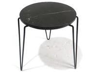 Sampaguita Side Table Black Marble