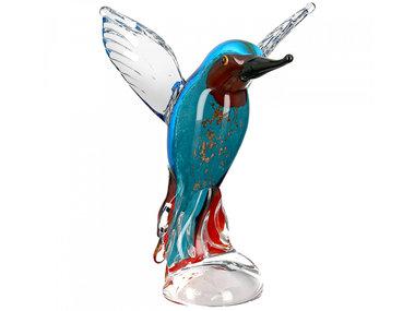 Casablanca Glassculptuur 'IJsvogel'