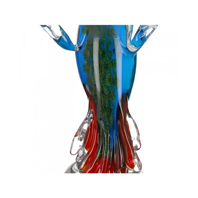 Glassculptuur 'IJsvogel'
