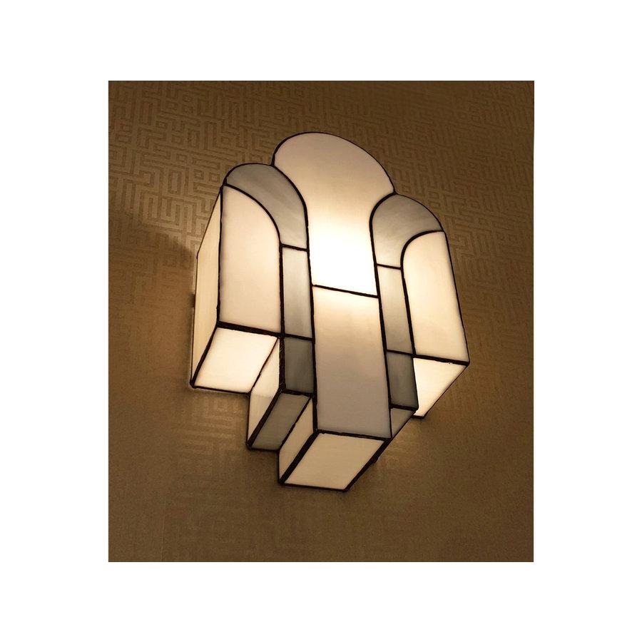 Art Deco Trade Tiffany Wandlamp New York