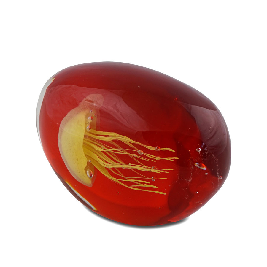 Mossapour Glas Object Jelly Yellow