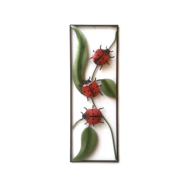 Wall Art Ladybugs 90x30