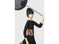 Skitso Skitso Tafellamp Paraplu dame Ioli