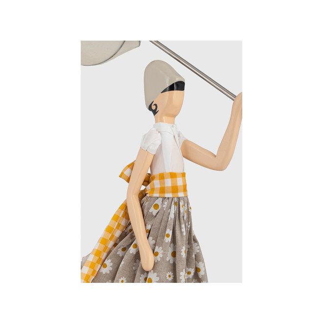 Skitso Tafellamp Paraplu dame Margarita