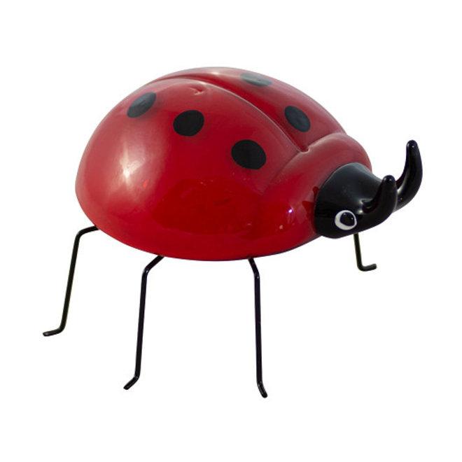 Glassculptuur 'Ladybird'
