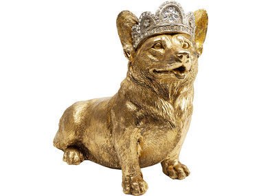 Kare Deco Object Royal Sitting Corgi