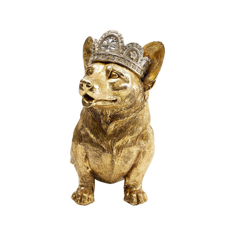 Kare Deco Object Royal Sitting Corgi