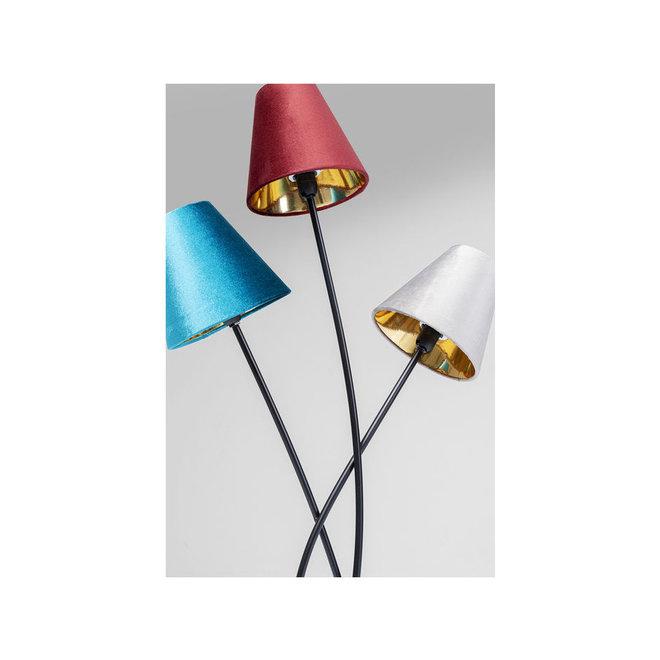 Floor Lamp Flexible Schwarz Tre