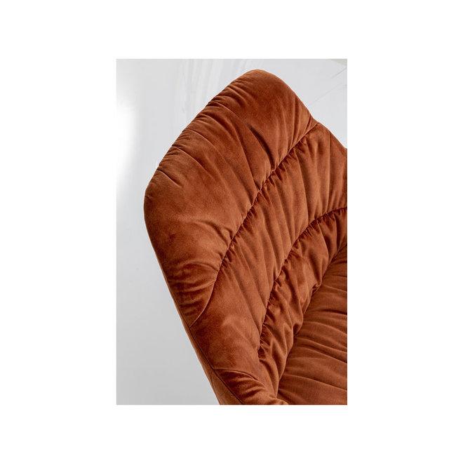 Swivel Armchair Bristol Rust Red