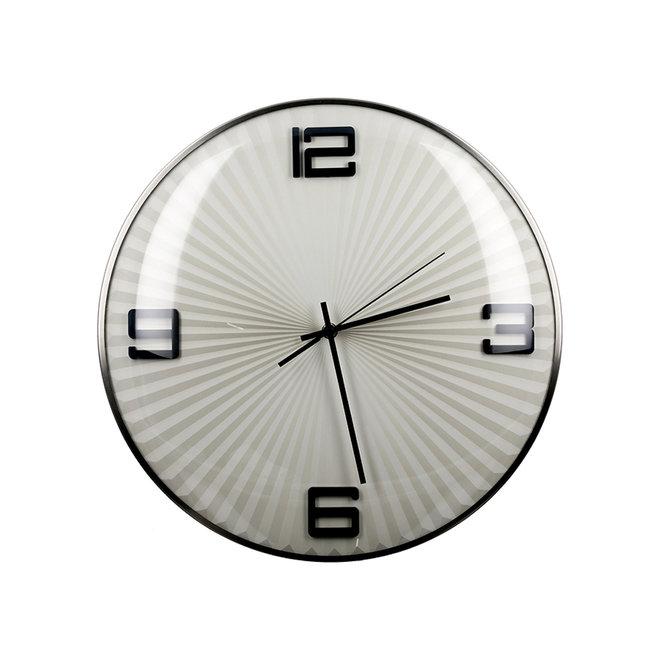 Wall Clock Ribbed