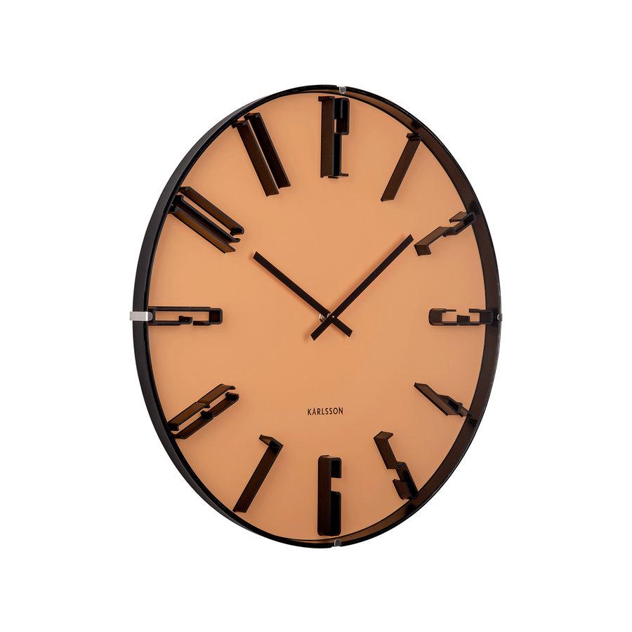 Karlsson Wall Clock Sentient Ochre