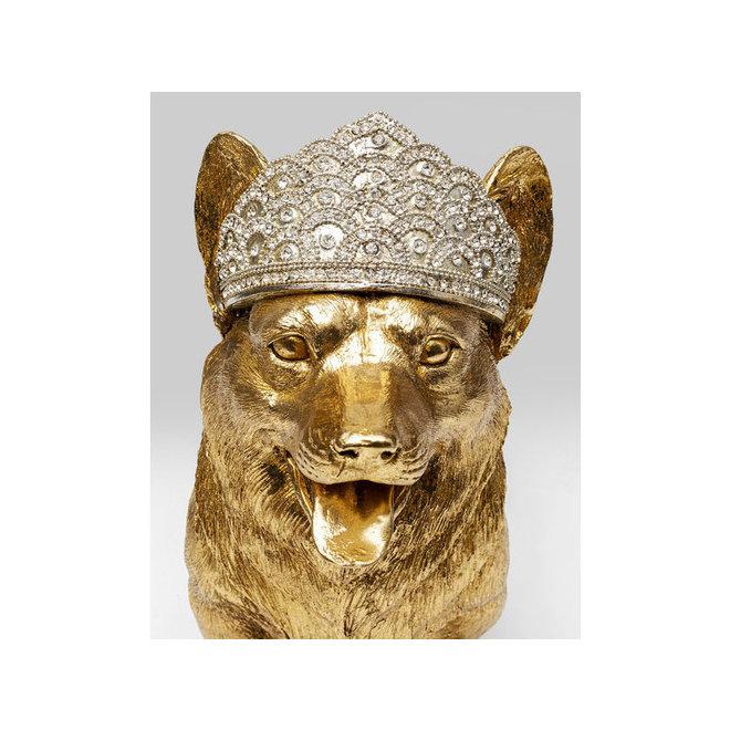 Deco Object Royal Standing Corgi