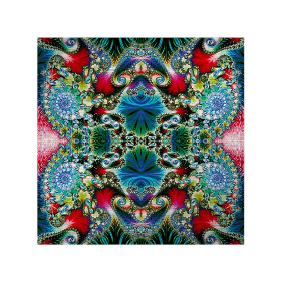 Mondi-Art Alu Art Multicolored Spiral Pattern