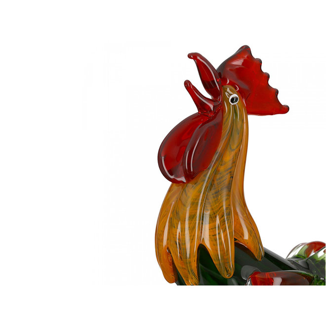 Glassculptuur 'Haan'